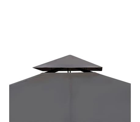 vidaXL Altánok so strechou 3x4 m, tmavosivý[3/7]