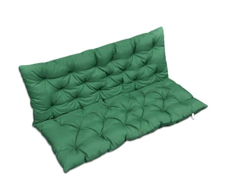 "Green Cushion for Swing Chair 47.2""[2/4]"