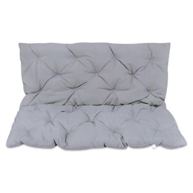 "Gray Cushion for Swing Chair 47.2""[1/4]"