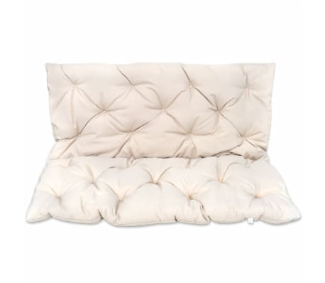 "Cream Cushion for Swing Chair 47.2""[1/4]"