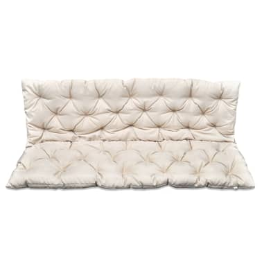 "Cream Cushion for Swing Chair 59""[1/4]"