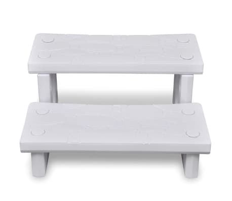Biele schodíky do kúpeľa[2/4]