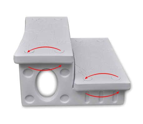 Biele schodíky do kúpeľa[3/4]