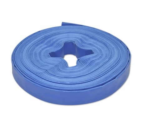 "vidaXL Flat Hose 25 m 1"" PVC Water Delivery"