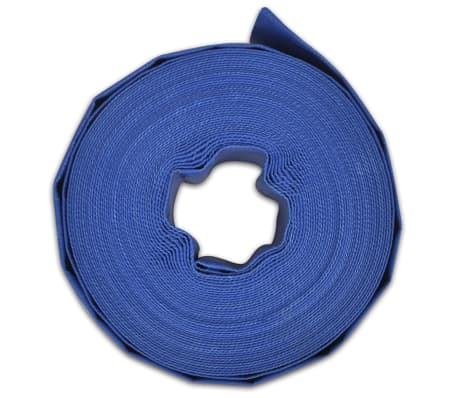 "vidaXL Flat Hose 25 m 2"" PVC Water Delivery[4/4]"