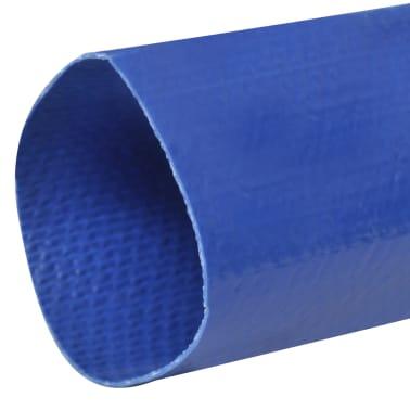"""vidaXL Platt slang 25 m 2"""" PVC vattenleverans[2/4]"""