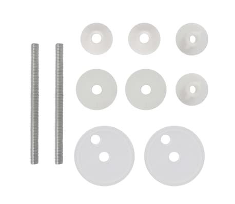 Toiletsæde med låg af MDF, porcelænsdesign[8/9]