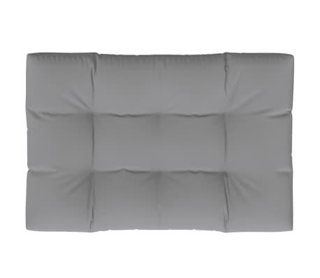 Tapecirani jastuk za sjedala sivi 120 x 80 x 10 cm[1/3]