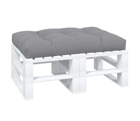 Tapecirani jastuk za sjedala sivi 120 x 80 x 10 cm[2/3]