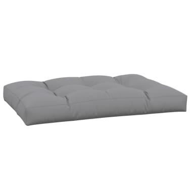 vidaXL Coussin de siège rembourré Gris 120x80x10 cm[3/3]