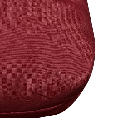 vidaXL Wine Red Upholstered Seat Cushion 120 x 80 x 10 cm[3/3]