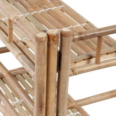 3 polcos bambusz növény állvány[3/5]