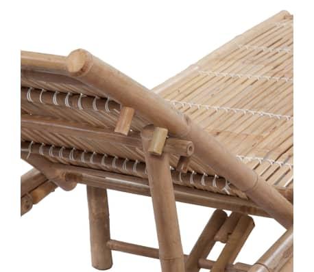 vidaXL sauļošanās zvilnis, bambuss[4/6]