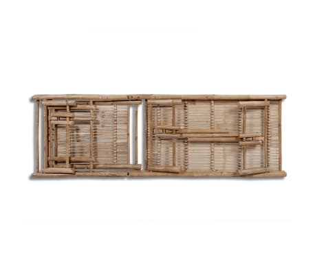 vidaXL sauļošanās zvilnis, bambuss[5/6]