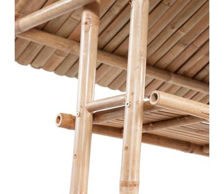 vidaXL Caféset 3 delar bambu[4/7]