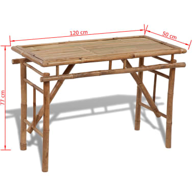 Bamboo Folding Table[4/4]