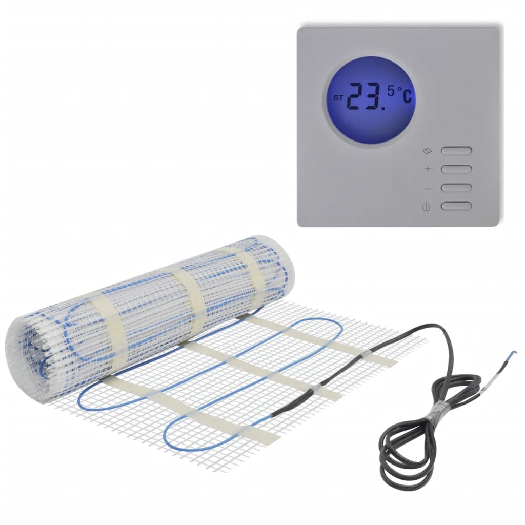 Podlahová topná rohož 6 m², 160 W/m² + digitální termostat