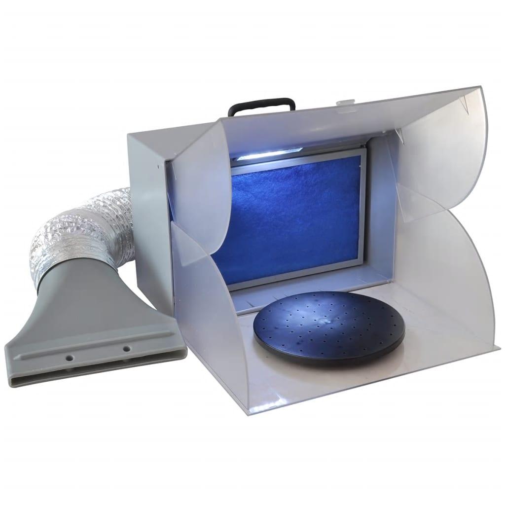 Stříkací box s odsáváním a LED osvětlením
