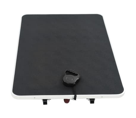 Portable Dog Grooming Table with Castors[4/10]