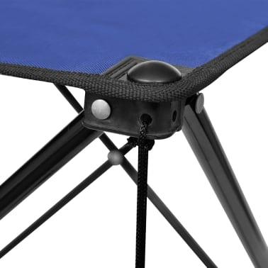Összecsukható Kemping asztal kék[3/5]
