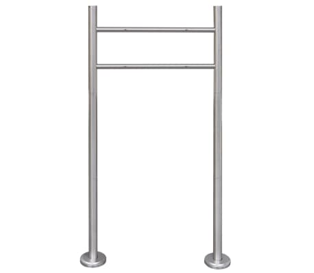 vidaXL Stainless Steel Stand for Mailbox