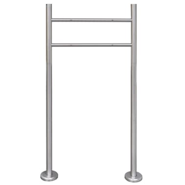 vidaXL Stainless Steel Stand for Mailbox[1/5]