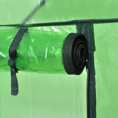 Walk-in Greenhouse with 4 Shelves[5/6]