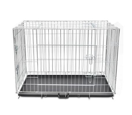 faltbare hundebox metall xl g nstig kaufen. Black Bedroom Furniture Sets. Home Design Ideas