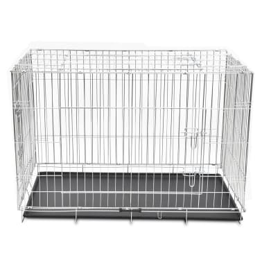 Foldable Metal Dog Bench XXL[2/4]