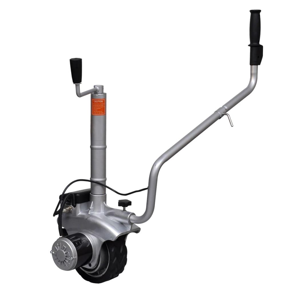 Roată manevră remorcă motorizată din aluminiu 12 V 350 W vidaxl.ro