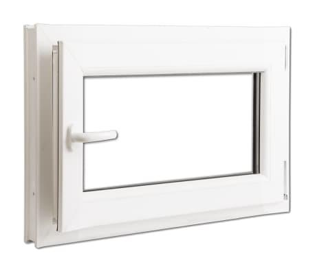 2 fach verglast drehkippfenster pvc linksseitig griff 800x600mm g nstig kaufen. Black Bedroom Furniture Sets. Home Design Ideas
