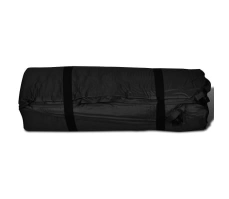 Slaapmat zelfopblazend zwart 190 x 130 x 5 cm (dubbel)[5/5]