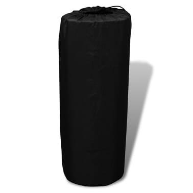 Colchón de aire autohinchable negro 190 x 130 x 5 cm (Doble)[4/5]