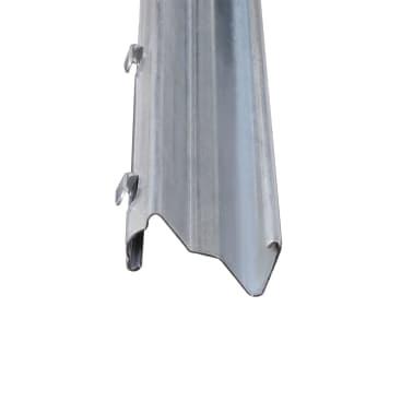 Z Formos Profilio Tvoros Stulpai, 2 m, Cinkuoto Plieno, 10 vnt.[4/5]