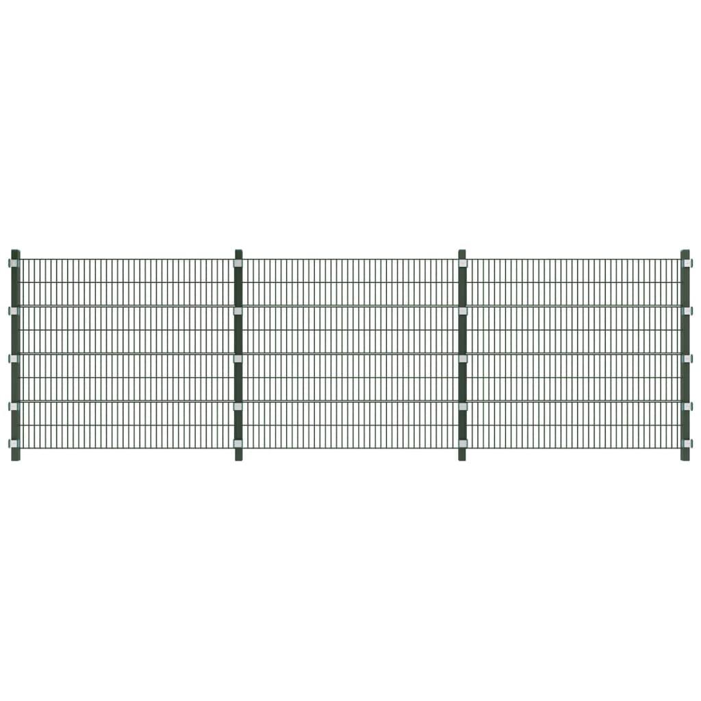6 m Plotové panely se sloupky, výška 1,6 m