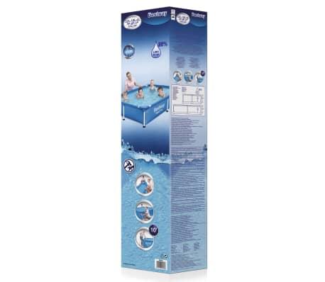 Bestway steel pro swimming pool mit stahlrahmen 221x150x43 - Pool mit stahlrahmen ...
