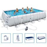 Bestway Power Steel Obdélníkový bazén, ocel, set 671x366x132cm 56470