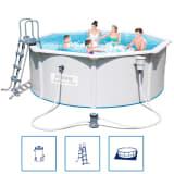 Bestway Hydrium stalen frame zwembad set 360 x 120 cm (rond)