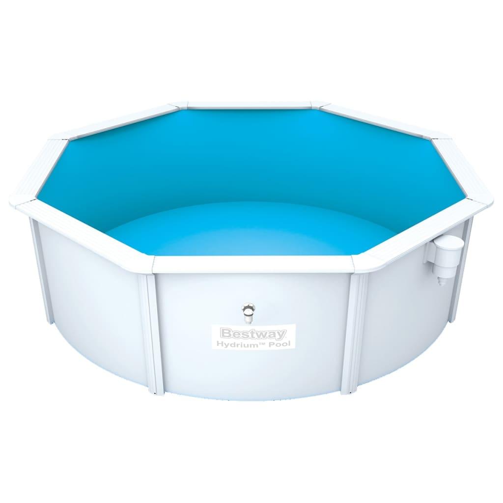 Bestway Hydrium Zwembad met stalen frame rond 360x120 cm 56571