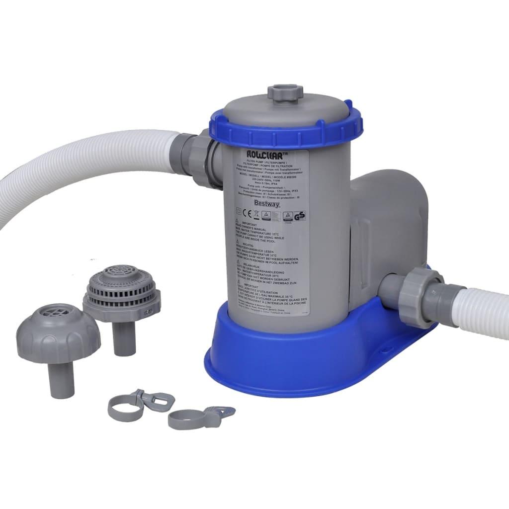 Bestway Flowclear Kartušová filtrace s čerpadlem 1500 gal/h 58389