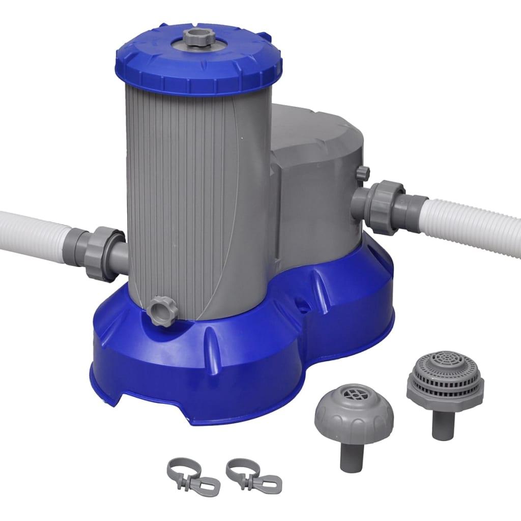 Bestway Pompă de filtrare piscină Flowclear, 2500 gal / h, 58391 poza vidaxl.ro