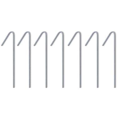 vidaXL Partytält 3 x 3 m gräddvit[8/9]