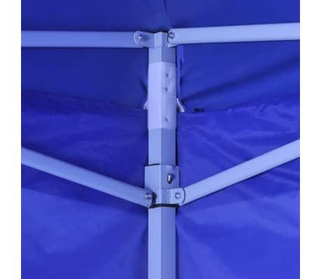 vidaXL Tienda de fiesta plegable 3x3 m con 4 paredes azul[4/11]