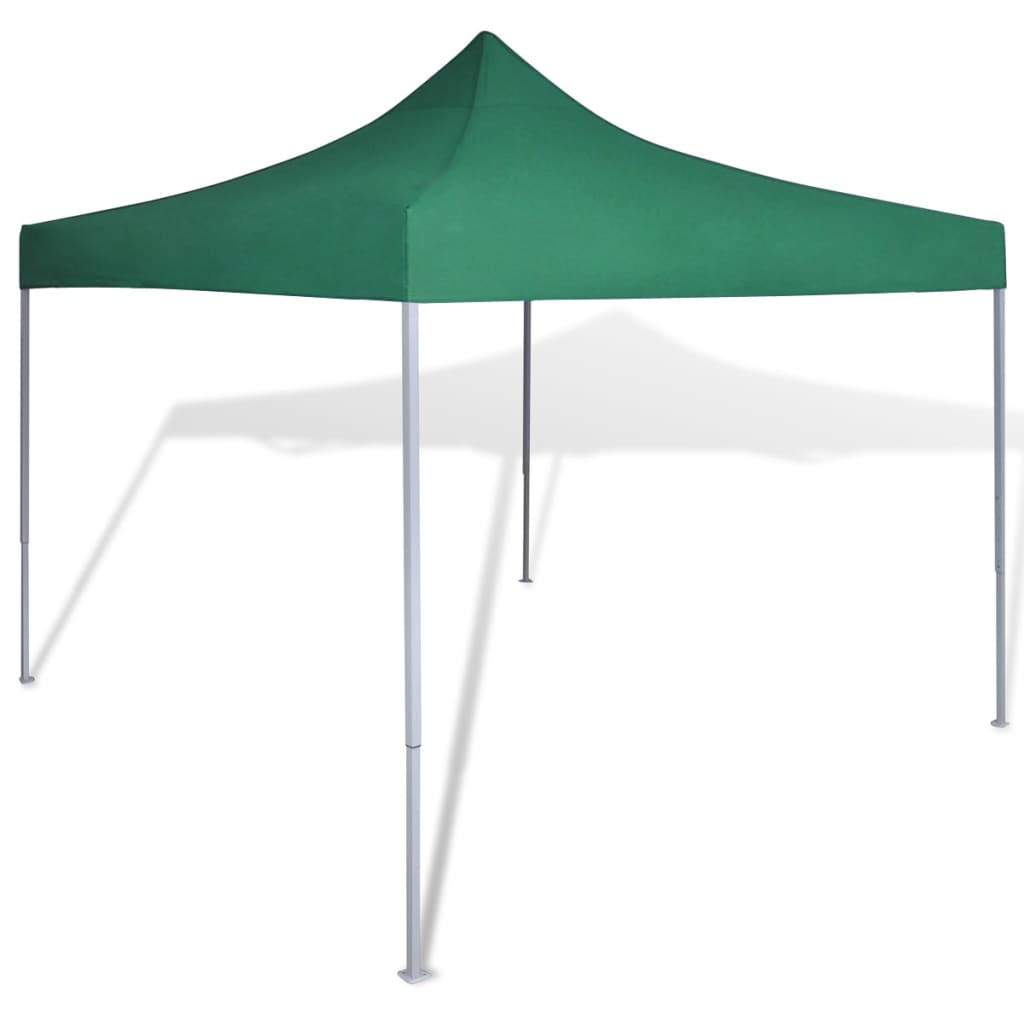 vidaXL Zelený skládací party stan 3 x 3 m