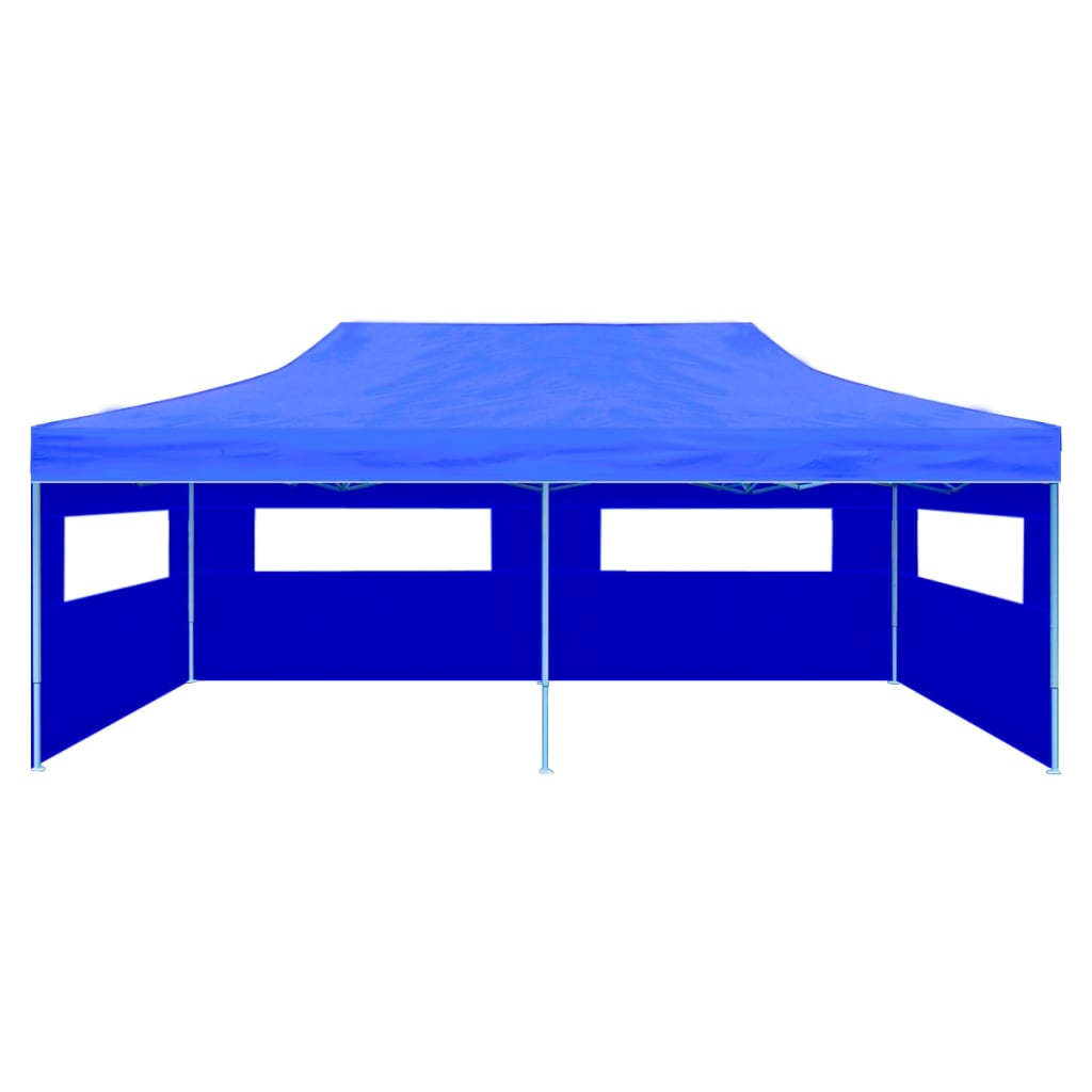 vidaXL Partytent pop-up 3x6 m blauw