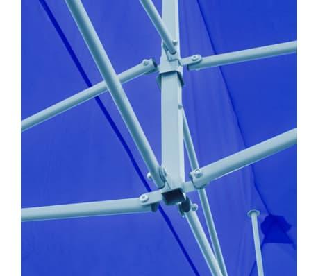 "vidaXL Blue Foldable Pop-up Party Tent 9'10"" x 19'8""[6/11]"