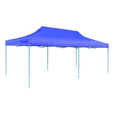 vidaXL Blue Foldable Pop-up Party Tent 9