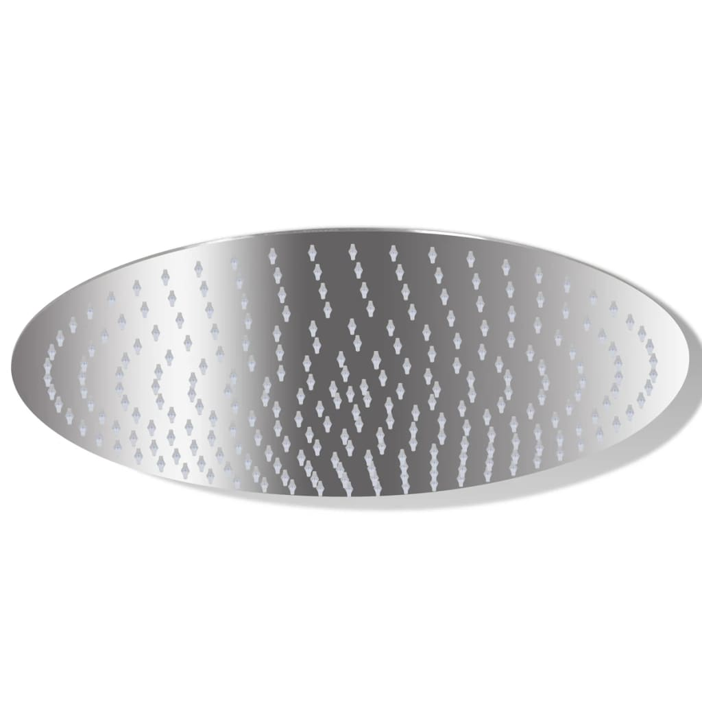 Cap de duș rotund tip ploaie din oțel inoxidabil, 25 cm poza vidaxl.ro