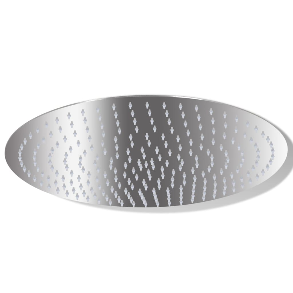 Cap de duș tip ploaie din oțel inoxidabil, rotund, 40 cm poza vidaxl.ro