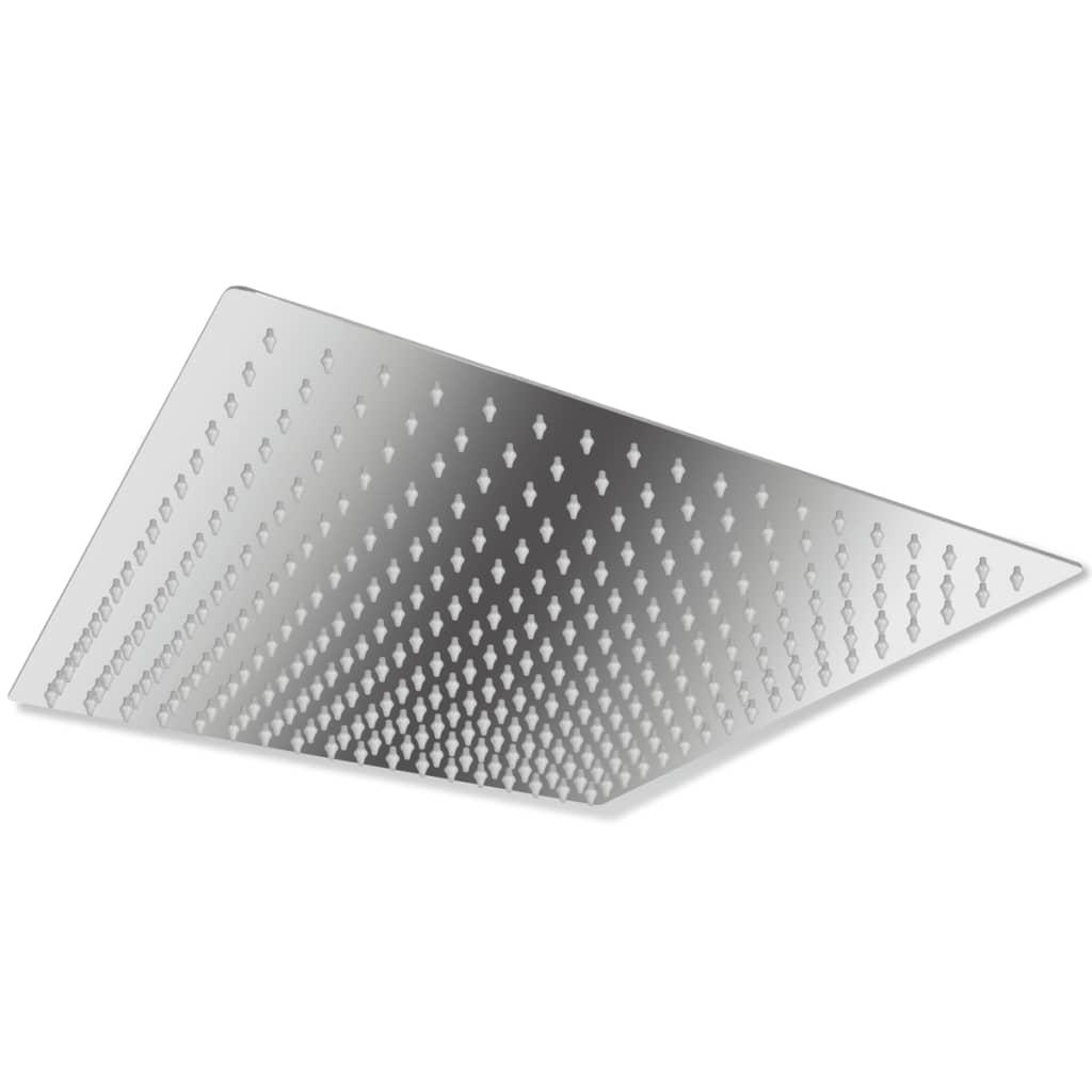 Cap de duș pătrat din oțel inoxidabil 40 cm poza vidaxl.ro